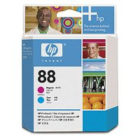 Расходный материал HP HP 88 Magenta and Cyan Officejet Printhead C9382A