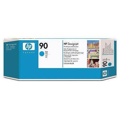 Печатающая головка HP 90 Cyan/Голубой (C5055A)