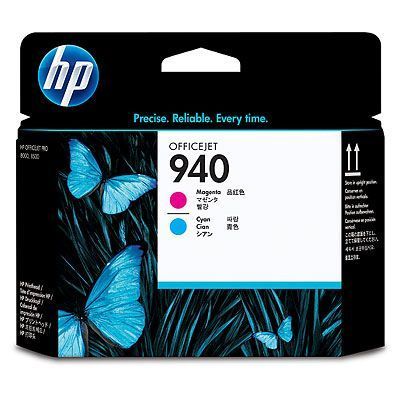 ��������� �������� HP HP 940 Magenta and Cyan Officejet Printhead C4901A