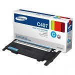 Тонер-картридж Samsung Cyan /Зеленовато - голубой (CLT-C407S/SEE)