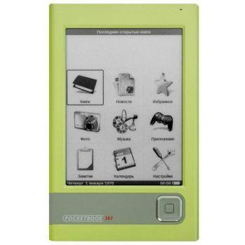 Электронная книга PocketBook 301 Plus Lingvo Green
