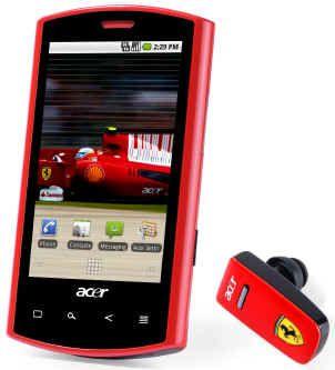 Смартфон, Acer Liquid E Ferrari S100 XP.H4TEN.006