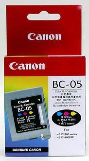 Расходный материал Canon Картридж Canon BC-05 Color bj Cartridge 0885A002