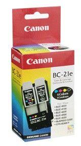 Расходный материал Canon Картридж Canon BC-21e Color bj Cartridge 0899A002