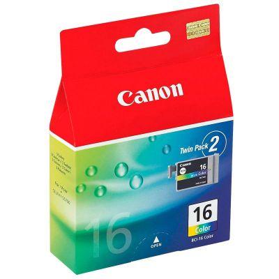 Картридж Canon BCI-16 Cyan / Magenta / Yellow - Зеленовато - голубой / Пурпурный / Желтый (9818A002)