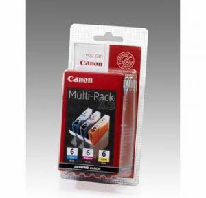 Расходный материал Canon Картридж Canon BCI-6 C/M/Y bl euro mul 4706A022