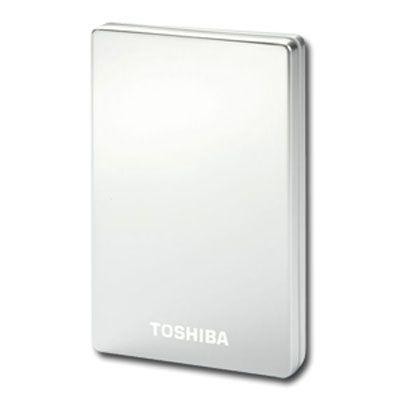 "Внешний жесткий диск Toshiba StorE Alu2 2.5"" 320Gb USB 2.0 Silver PX1624E-1HC2"
