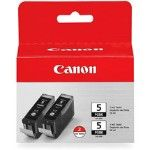 Расходный материал Canon Картридж Canon bj cartridge PGI-5 bk twin (двойная упаковка) <span 0628B025