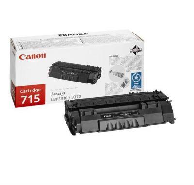 Картридж Canon 715 Black/Черный (1975B002)
