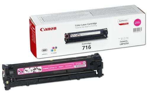 Картридж Canon 716 Magenta/Пурпурный (1978B002)