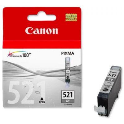 Картридж Canon CLI-521 GY IJ CART EMB Grey/Серый (2937B004)