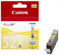 Картридж Canon CLI-521 Y IJ Yellow/Желтый (2936B004)