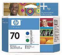 Расходный материал HP HP 70 Blue and Green Printhead C9408A