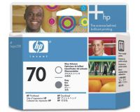 Расходный материал HP HP 70 Gloss Enhancer and Grey Printhead C9410A