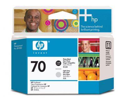 ��������� �������� HP HP 70 Photo Black and Light Grey Printhead C9407A