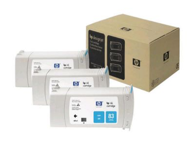 ��������� �������� HP HP 81 3-pack 680-ml Cyan Dye Cartridges C5067A
