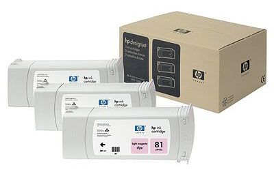 �������� HP 81 Light Magenta/������-��������� (C5071A)