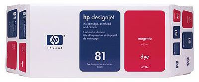 ��������� �������� HP 81 Value Pack 680-ml Magenta Dye Ink Cartridge and Printhead C4992A