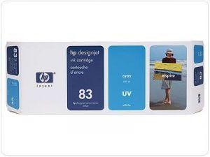 Картридж HP 83 Cyan/Голубой (C4941A)