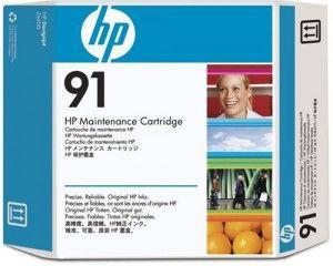 Картридж HP 91 для обслуживания прозрачный (C9518A)
