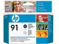 HP 91 ���������� ������� Black/Light Grey-������/������-����� (C9463A)