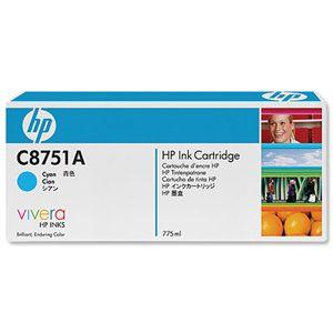 Картридж HP Cyan/Зеленовато-голубой (C8751A)