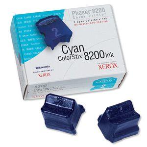 Расходный материал Xerox Xerox Phaser 8200 чернила твердые голубые (2шт) 2,8К 016204100