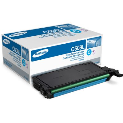 Картридж Samsung CLP-620ND Cyan /Зеленовато - голубой (CLT-C508L)