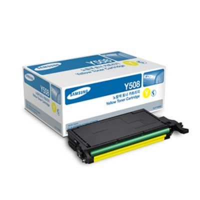 Расходный материал Samsung Samsung CLP-620ND Stnd Print Cartridge Yellow CLP-Y508S