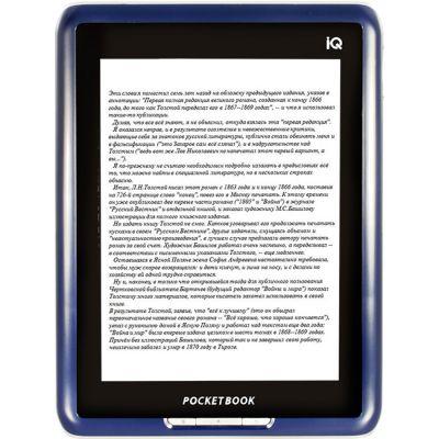 Электронная книга PocketBook iq 701 Dark Blue