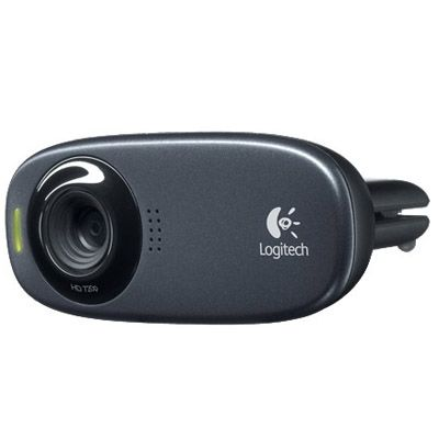 ���-������ Logitech Logitech HD Webcam C310, USB 2.0, 1280*720, 5Mpix foto, Mic, Black 960-000638