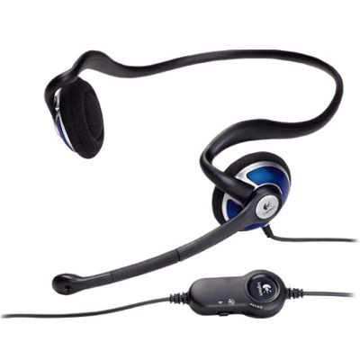 Наушники Logitech ClearChat Style Premium Behind-the-Head Stereo PC Headset 981-000019