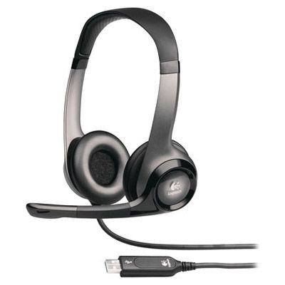 Наушники Logitech ClearChat Pro USB Stereo Headset with microphone 981-000011