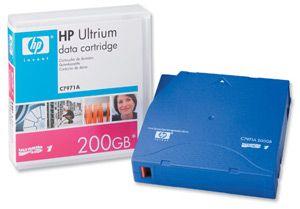 Расходный материал HP Ultrium 200 gb Data Cartridge C7971A