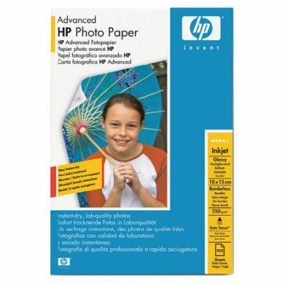 Расходный материал HP Advanced Glossy Photo Paper 250 g/m?-10 x 15 cm borderless/100 sht Q8692A