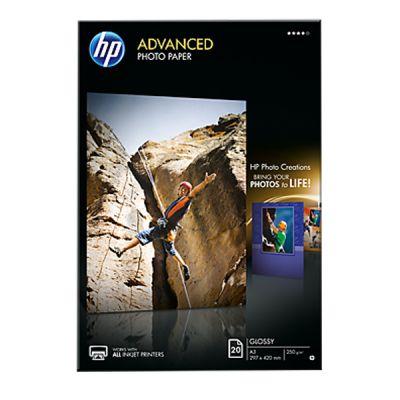 Расходный материал HP Advanced Glossy Photo Paper-20 sht/A3/297 x 420 mm Q8697A