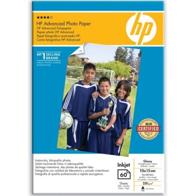 Расходный материал HP Advanced Glossy Photo Paper-60 sht/10 x 15 cm borderless Q8008A