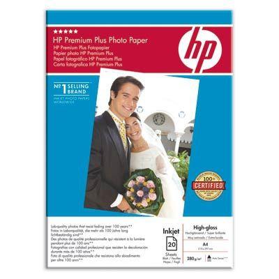Расходный материал HP Premium Plus High-gloss Photo Paper 280 g/m?-A4/210 X 297 mm/20 sht C6832HF