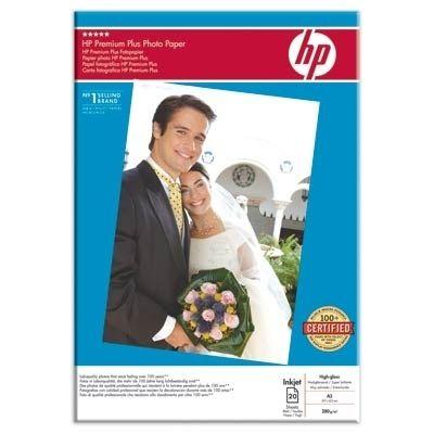 Расходный материал HP Premium Plus High-gloss Photo Paper-20 sht/A3/297 x 420 mm Q5496A