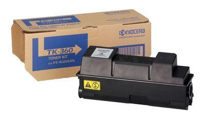 Тонер-картридж Kyocera FS-4020DN Black/Черный (TK-360)