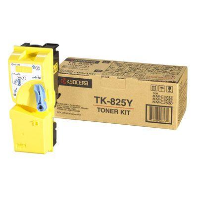 Тонер Kyocera Yellow/Желтый (TK-825Y)