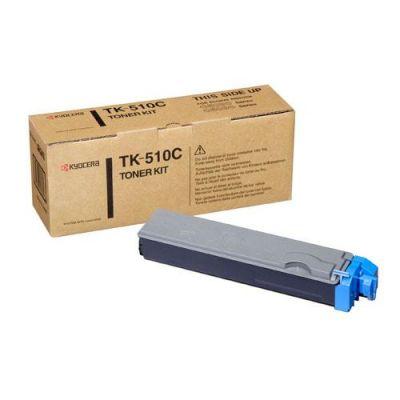 Тонер-картридж Kyocera Cyan/Голубой (TK-510C)
