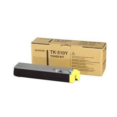 Тонер-картридж Kyocera Yellow/Желтый (TK-510Y)