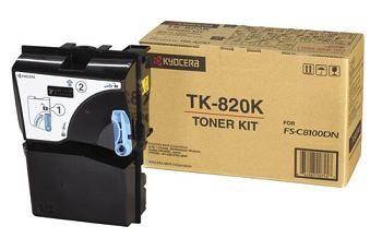 Тонер-картридж Kyocera FS-C8100DN Black/Черный (TK-820K)