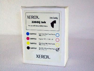 Расходный материал Xerox Картридж с чёрными чернилами 2260ij 026R09957
