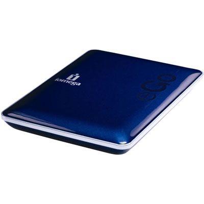 """Внешний жесткий диск Iomega eGo Portable 2.5"""" 320Gb USB2.0 Blue 34893"""