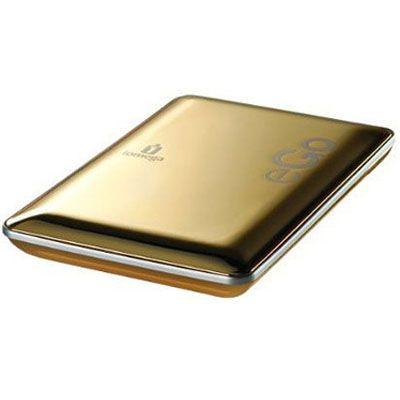 """Внешний жесткий диск Iomega eGo Portable 2.5"""" 500Gb USB2.0 Gold 34907"""
