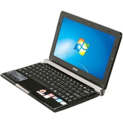 Ноутбук MSI Wind U160DX-439 Black