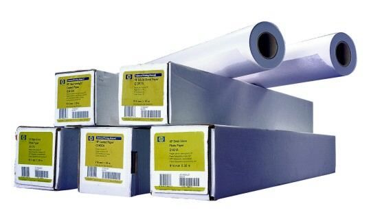 ��������� �������� HP Yellow Coloured Paper-914 mm x 45.7 m (36 in x 150 ft) Q1760A