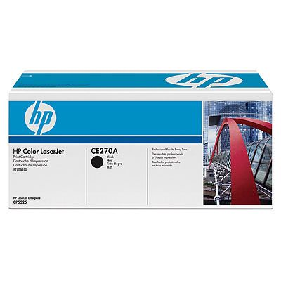 Картридж HP Black/Черный (CE270A)